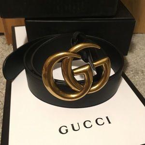 Gucci marmont belt women's